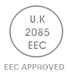 uk 2085 eec approved